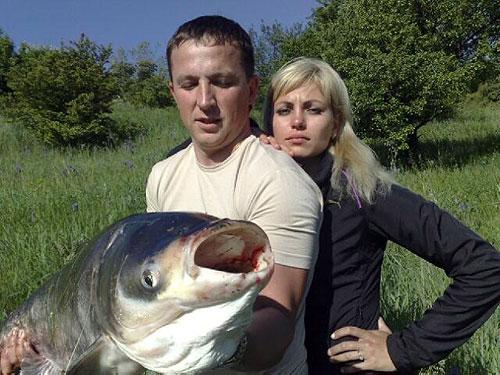 Ловля толстолобика, рыбалка на толстолоба.