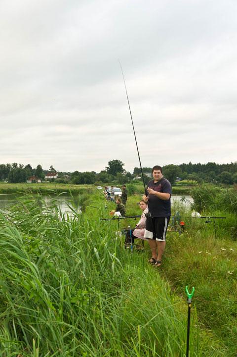 Соревнование по рыбной ловле карпа