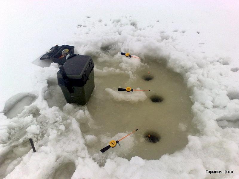 Вот как выглядят поплавочные зимние удочки - Фото рыбалка Видео рыбалка Галерея от F.Гид