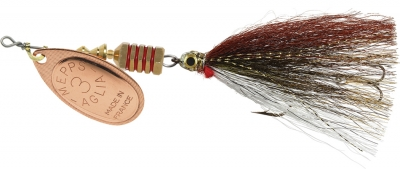 Aglia Streamer Single Hook w/ Treble Stinger